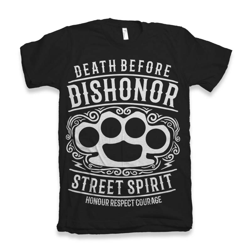 Death Before Dishonor t-shirt design buy t shirt design