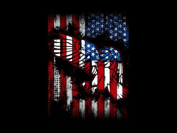 Eagle Flag BTD 600x450 - The Eagle Flag buy t shirt design