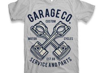 Garage Co Vector t-shirt design