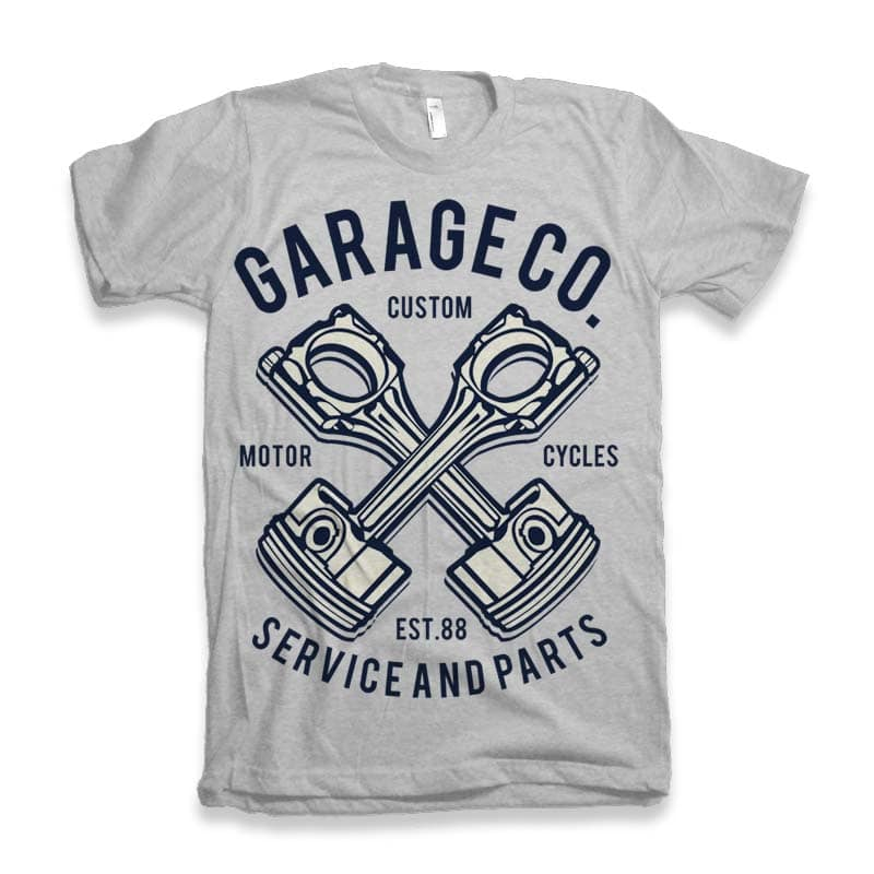 Garage Co Vector t-shirt design buy t shirt design