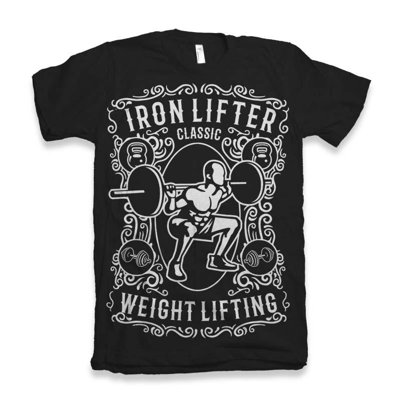 Iron Lifter buy t shirt design