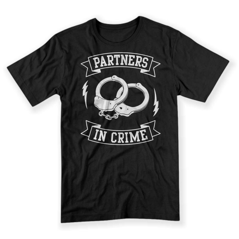 Partner In Crime buy t shirt design