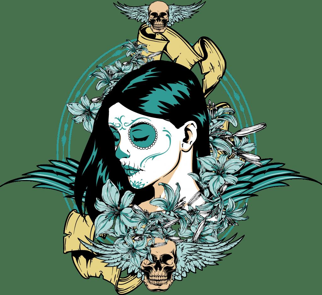 Muerte sagrada buy t shirt design