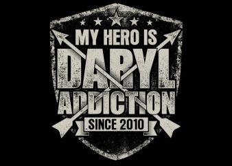 My Hero Is Daryl buy t shirt design