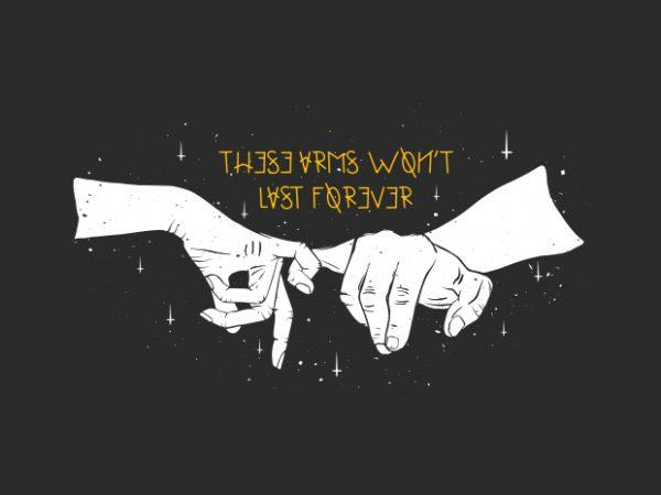 Promises t shirt illustration