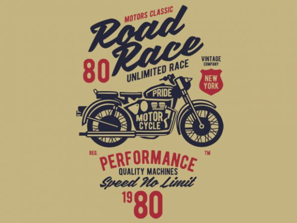 Road Race Motorcycles BTD  600x450 - Road Race Motorcycles T-shirt design buy t shirt design