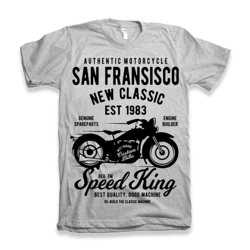 San Fransisco Motorcycle buy t shirt design