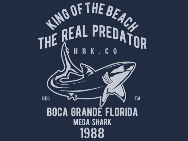 Shark Real Predator BTD 600x450 - Shark Real Predator t-shirt design buy t shirt design