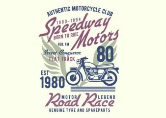 Speedways Motor T-shirt design buy t shirt design