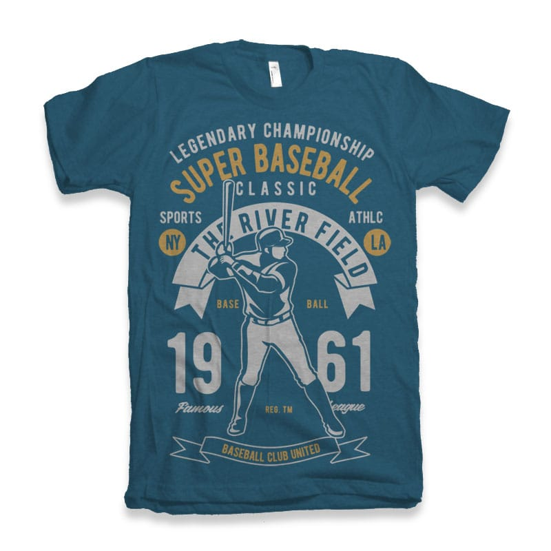 Super Baseball tshirt design buy t shirt design