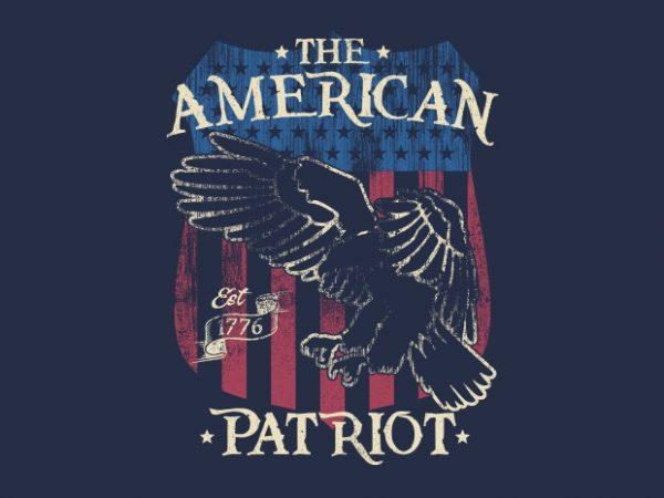 The American Patriot Btd 600x450 - The American Patriot buy t shirt design