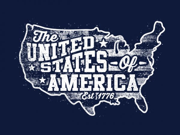 The United States Of America Est 1776 BTD 600x450 - The United States Of America Est 1776 buy t shirt design