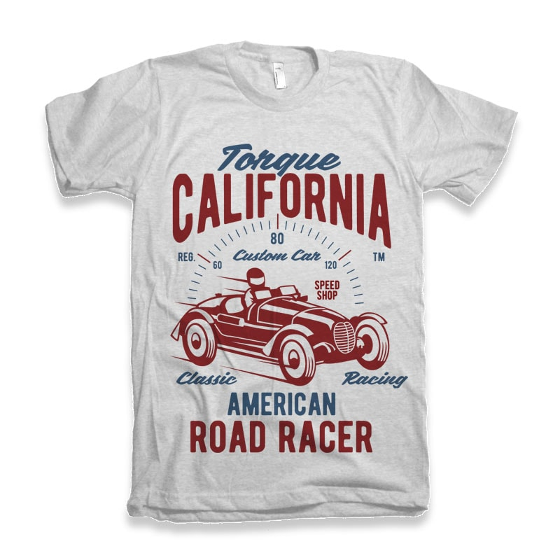 Torque California tshirt design buy t shirt design