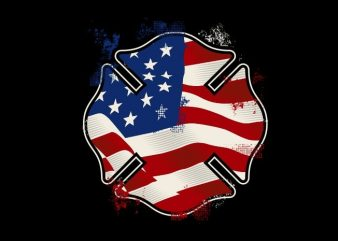 The US Fire Shield t shirt designs for sale