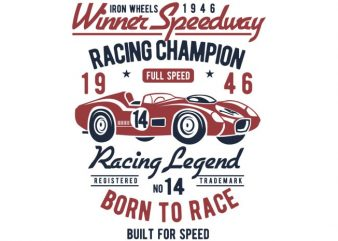 Winner Speedway t-shirt design buy t shirt design