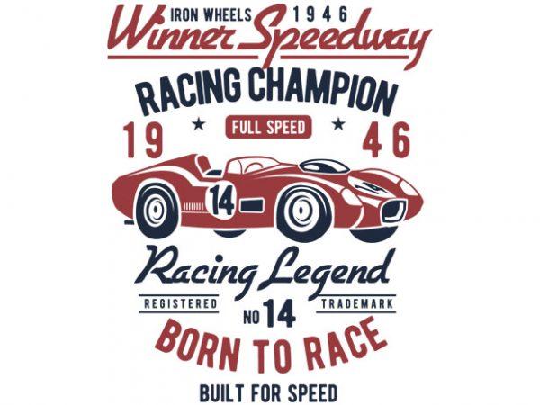 Winner Speedway t-shirt design buy t shirt design