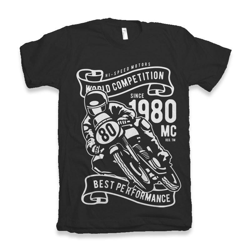 World Competition Superbike buy t shirt design