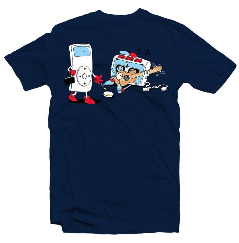 Ipod Cassette buy t shirt design