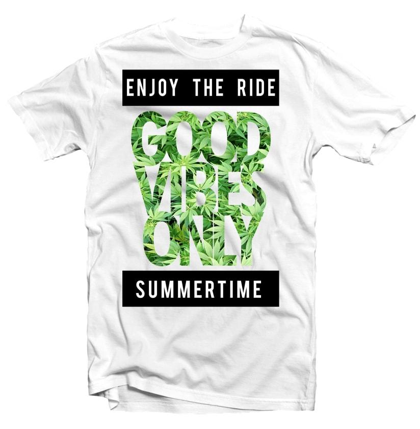 Good Vibes buy t shirt design