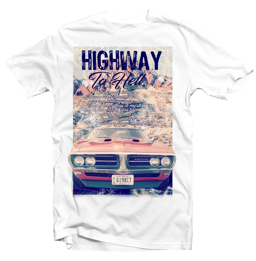 Highway to Hell buy t shirt design