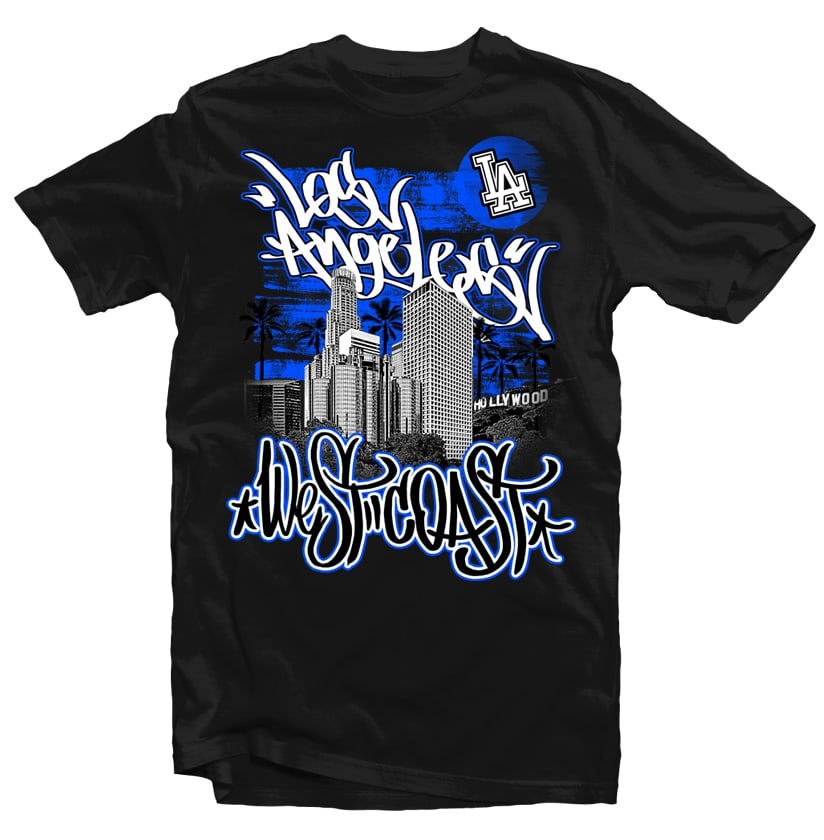 Los Angeles buy t shirt design