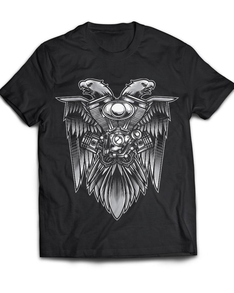 Speed Eagle buy t shirt design