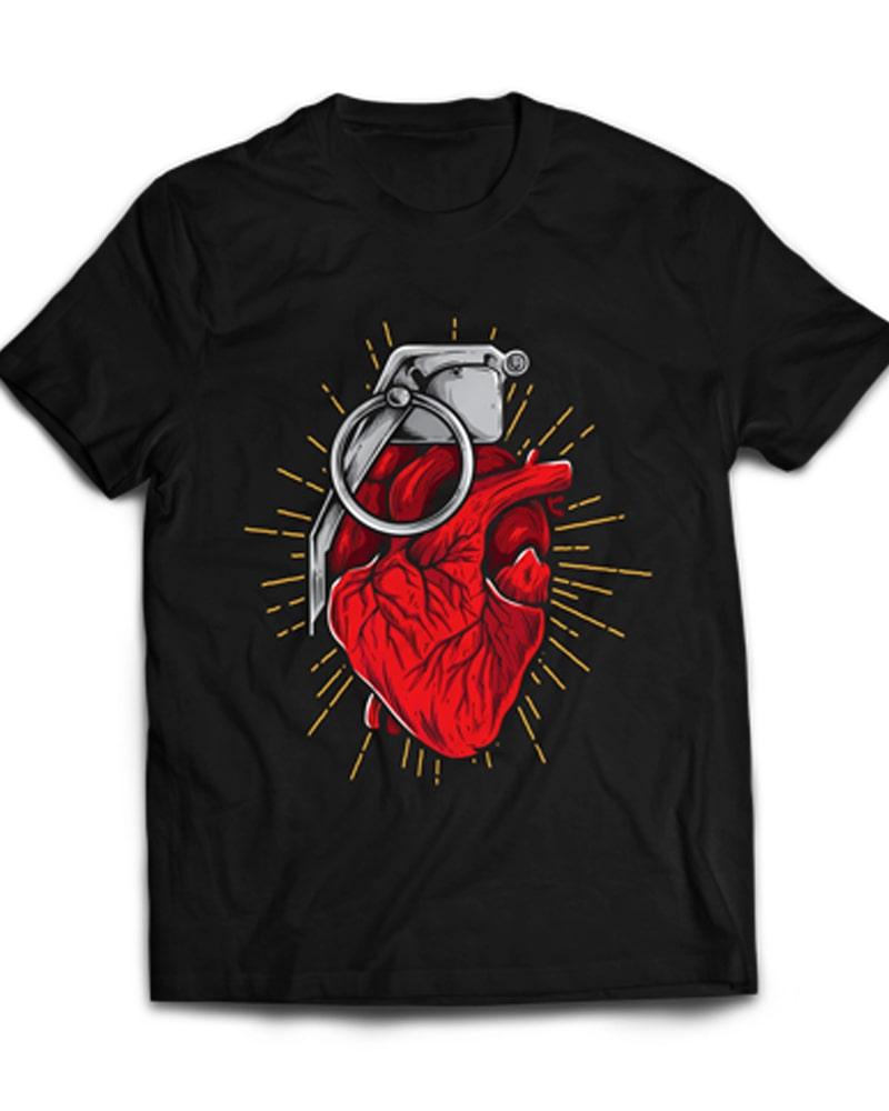 HeartGrenade buy t shirt design