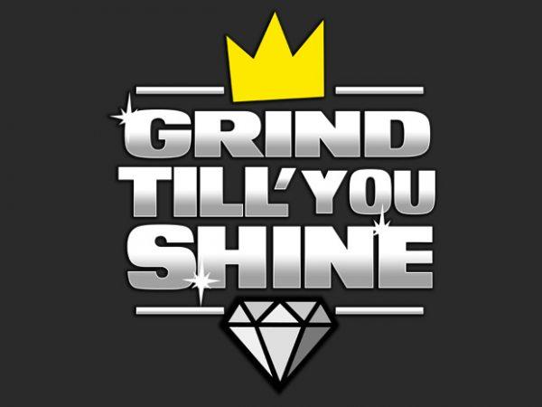 mocup 11 600x450 - Grind Still you Shine buy t shirt design