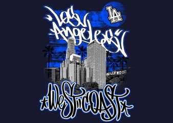 Los Angeles buy t shirt design