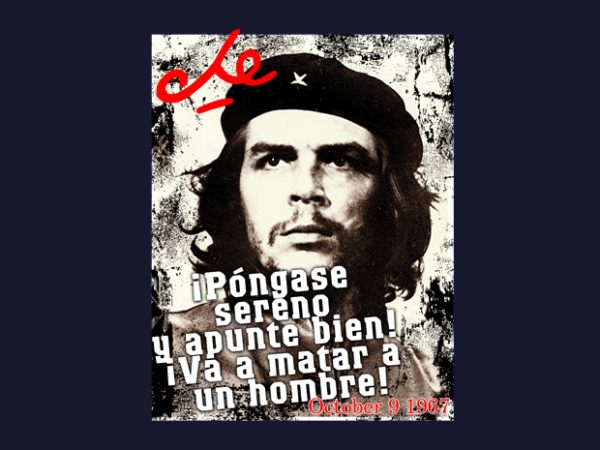 Che Guevara buy t shirt design