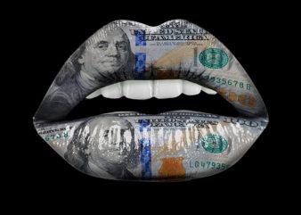Dollar Lips buy t shirt design