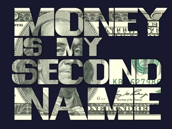 mocup 600x450 - Money is my Second Name buy t shirt design
