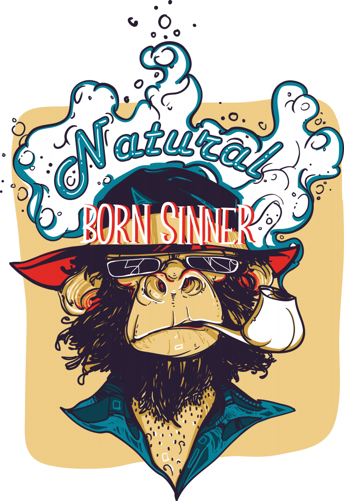 Natural born sinner buy t shirt design