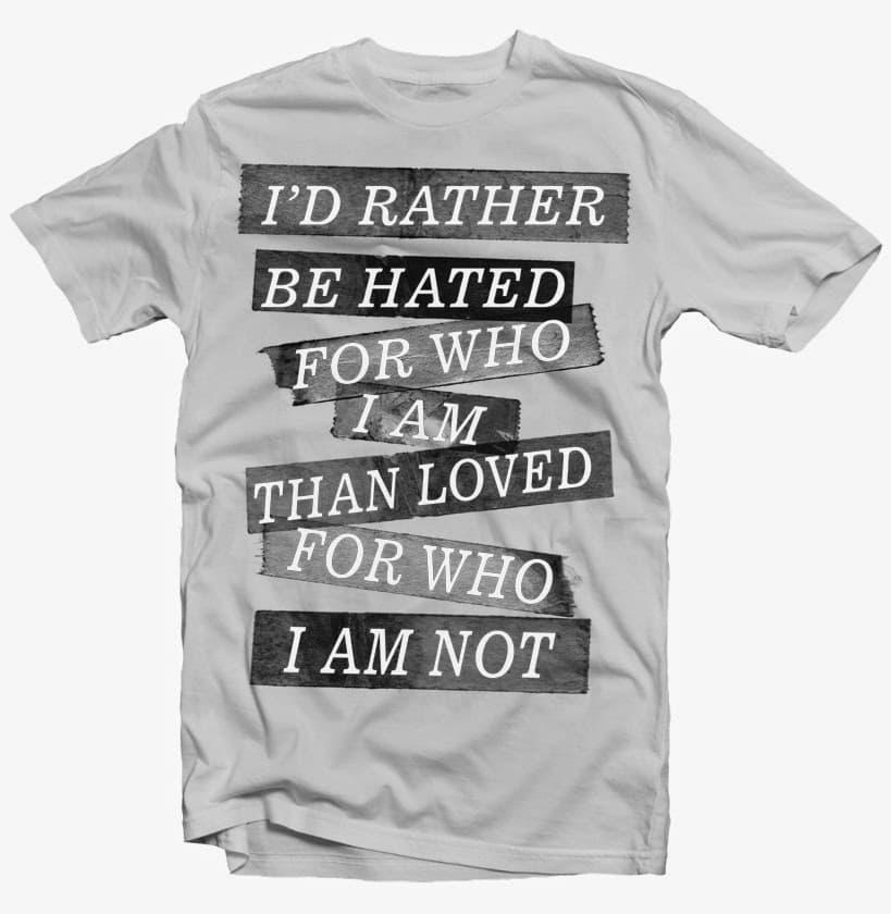who i am buy t shirt design