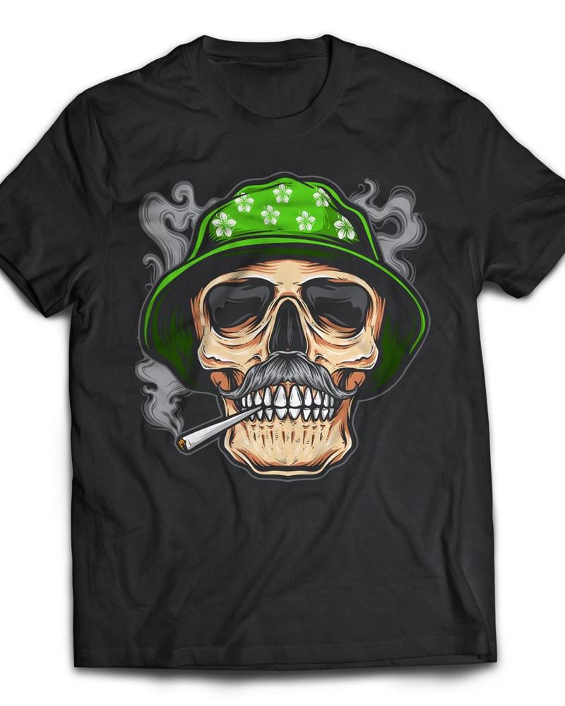 smoky buy t shirt design