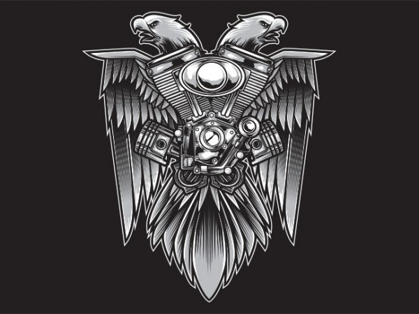 Speed Eagle buy t shirt design