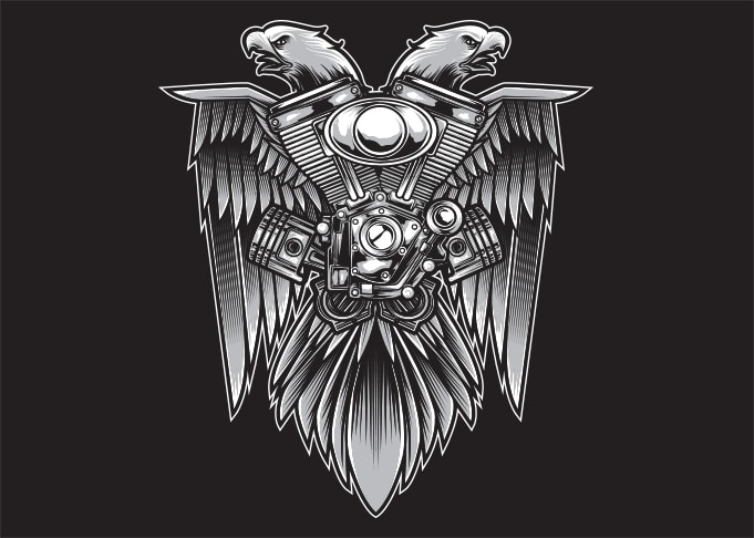 Speed Eagle - Buy t-shirt designs