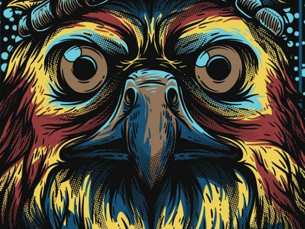 Mighty Eagle buy t shirt design