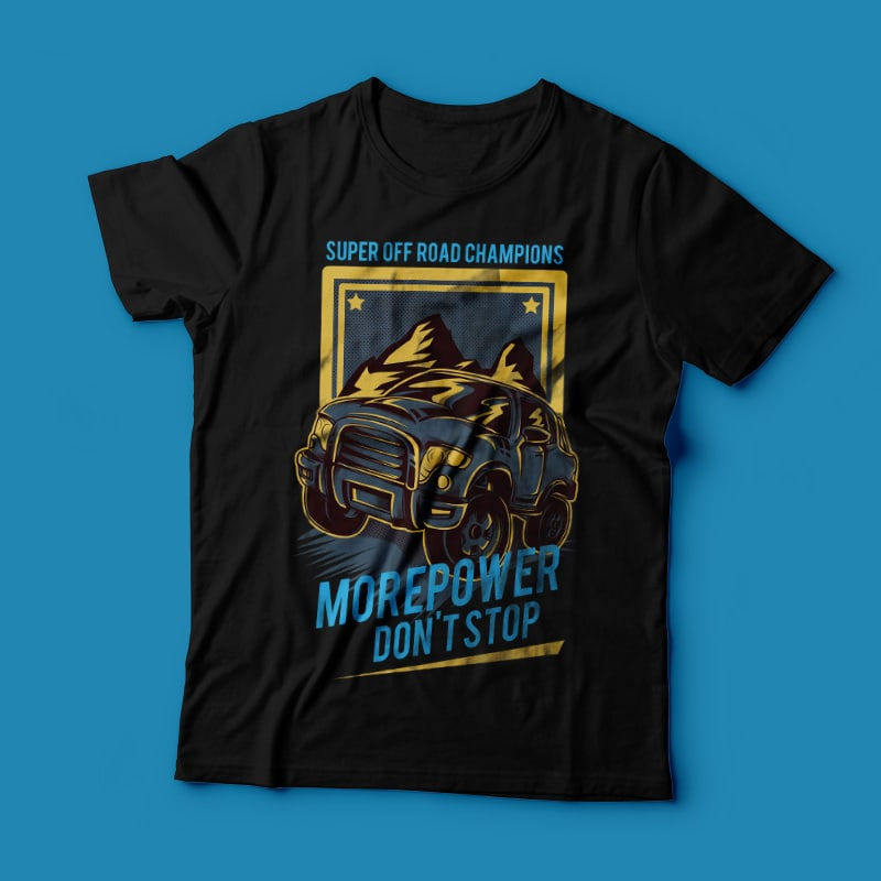 Morepower buy t shirt design