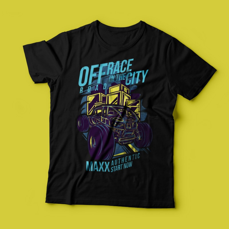 Race in the City buy t shirt design