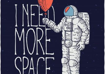 Astronaut buy t shirt design