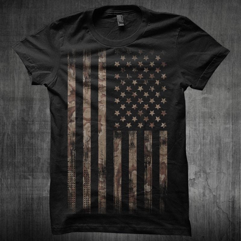 Camo Desert buy t shirt design