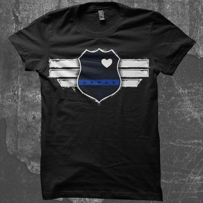Captain The Blue Officer buy t shirt design