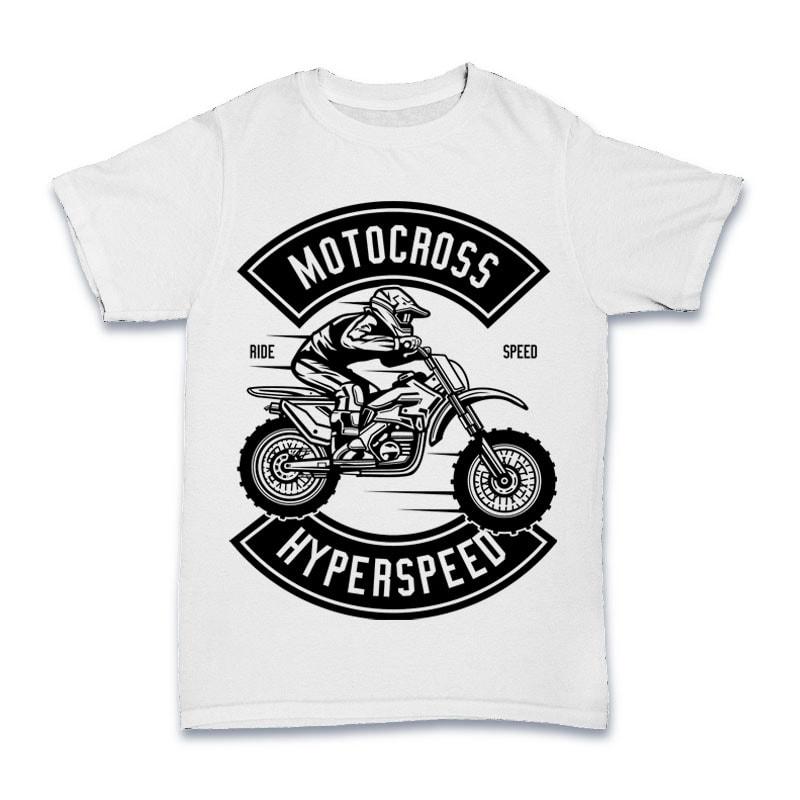 Motocross Hyperspeed buy t shirt design