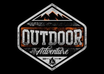Outdoor Adventure t shirt design online