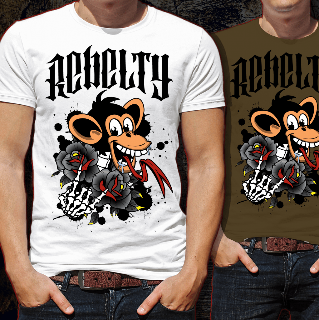 Rebelty Tshirt Design buy t shirt design