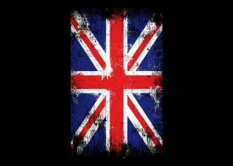 The Flag UK buy t shirt design