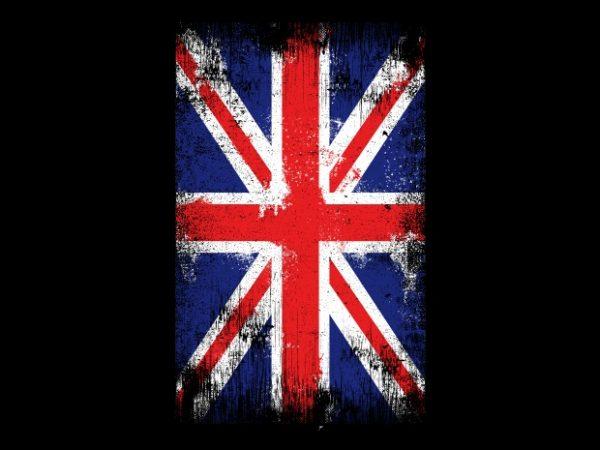 The Flag UK buy t shirt design