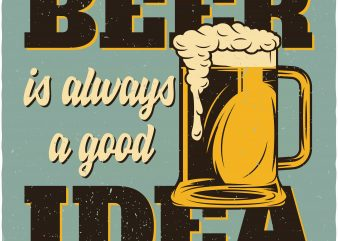Beer glass buy t shirt design