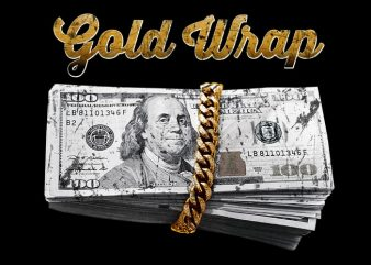 Gold Wrap buy t shirt design